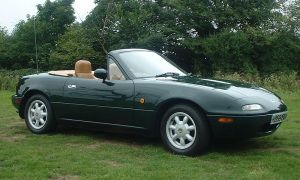 The green Miata