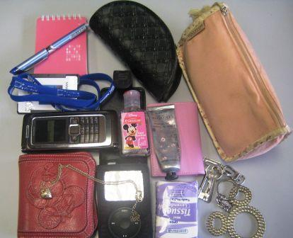 Stuff in my bag