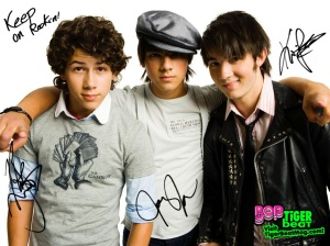 ...and the one band to rule them all the Jonas Brothers