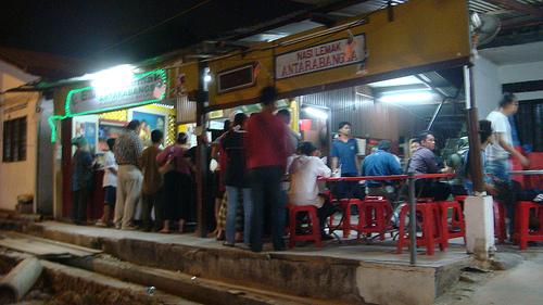 Nasi Lemak Antarabangsa, Kg Baru, KL. Photo (c) abubakar8286 - flickr