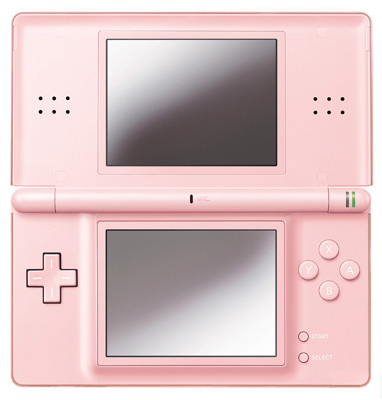 Nintendo DS Lite in Metallic Pink. I'll take the one in black too, thank you.