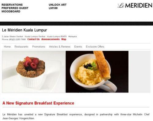 Three-star Michelin Chef Jean-Georges Vongerichten breakfast experiment with Ru, porridge and chicken drummets afterwards at Sentral