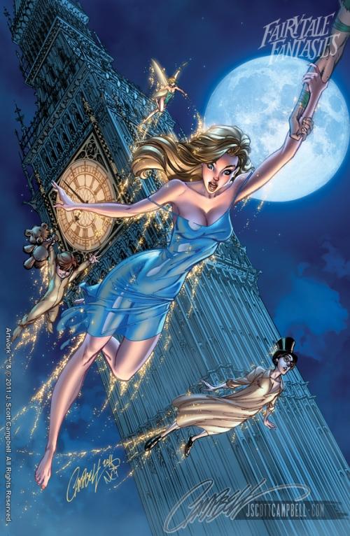 Wendy Fairytale Fantasies 2012 http://j-scott-campbell.deviantart.com/