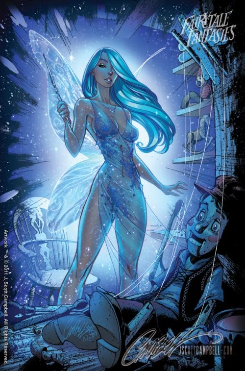Blue Fairy Fairytale Fantasies 2012 http://j-scott-campbell.deviantart.com/