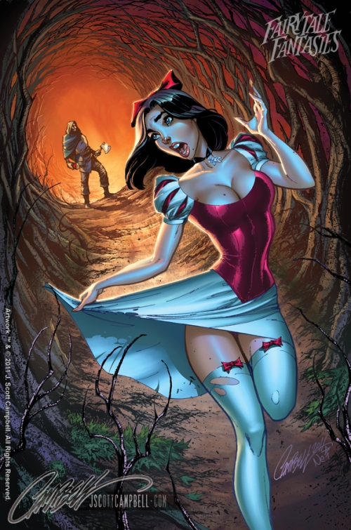 Snow White Fairytale Fantasies 2012 http://j-scott-campbell.deviantart.com/