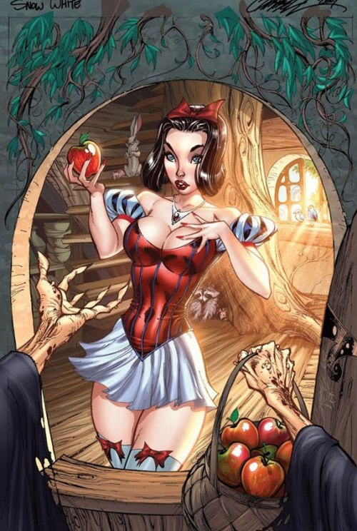 Snow White Sexy Disney Princesses http://j-scott-campbell.deviantart.com/