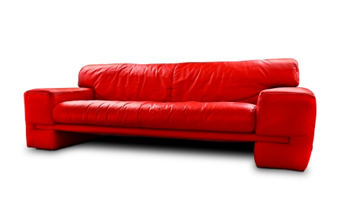 Red Vintage Leather Couch by Pausimausi (http://www.sxc.hu/profile/pausimausi)