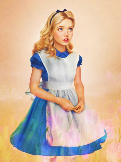 Alice Realistic Disney Princesses by jirkavinse.wordpress.com