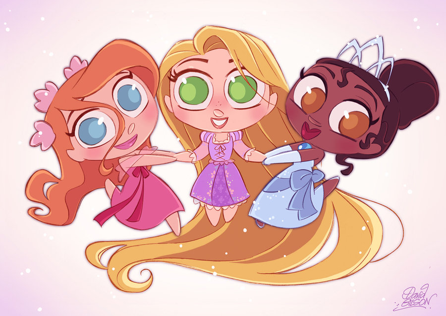 cute disney princesses killing time with ijah amran