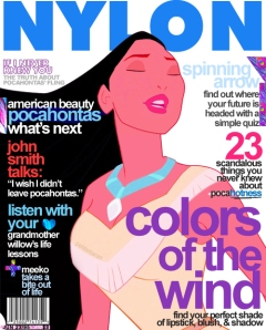 Pocahontas Cover Girl Disney Princesses by andpop.com