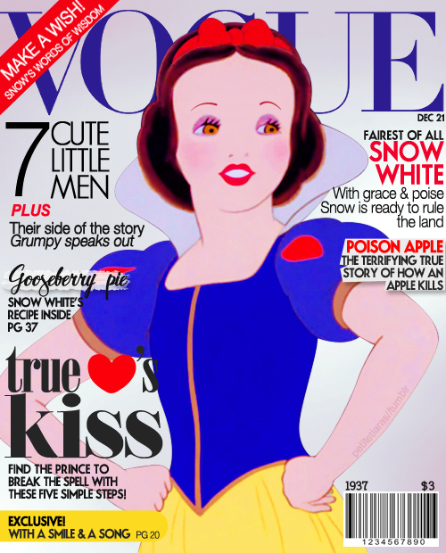 Snow White Cover Girl Disney Princesses by andpop.com