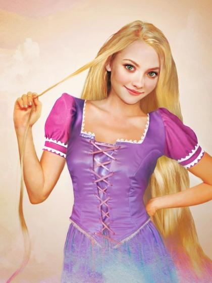 Rapunzel Realistic Disney Princesses by jirkavinse.wordpress.com