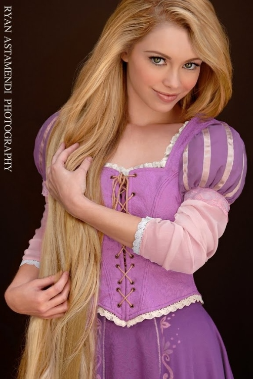 Rapunzel Real Girls as Disney Princesses by ryanastamendi.blogspot.com