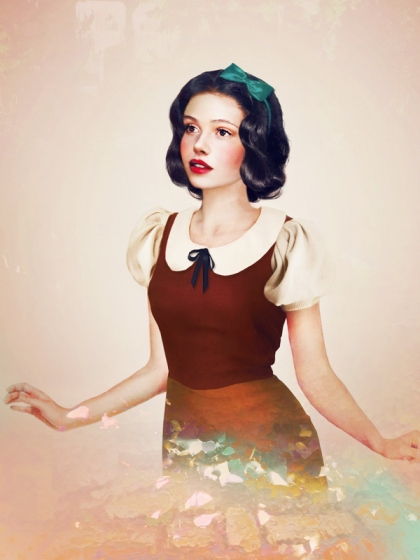Snow White Realistic Disney Princesses by jirkavinse.wordpress.com