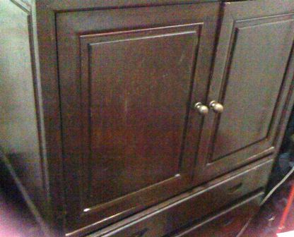 Wooden 2-Door TV Cabinet @ RM300