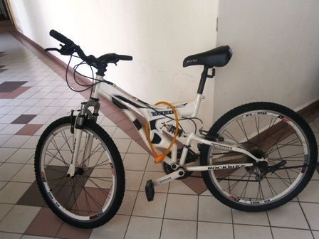 White Bike for Sale @ RM300