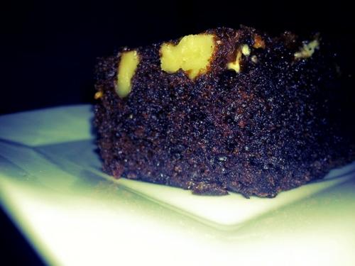 Brownies made using recipe by Annabel Karmel