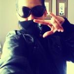 NC in Zara black bomber jacket