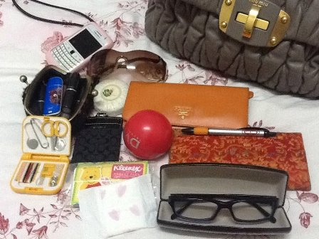 What's In My Bag - TC