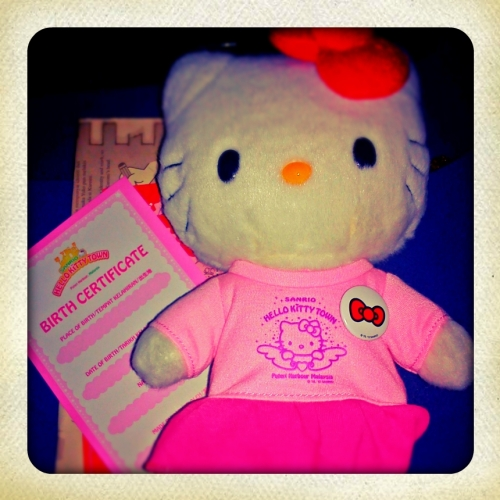 Hello Kitty doll special edition from Hello Kitty Town Malaysia
