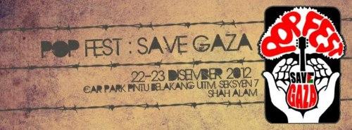 Popfest Save Gaza 2012 Uitm Shah Alam